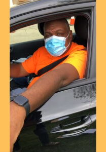 Meet Rodney – Former Bus Driver, now 1st Time Food Recipient